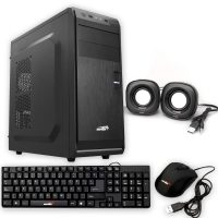 GABINETE G18 POWER KIT (teclado,mouse,parlante)