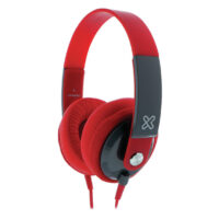 AURICULARES OVER EAR KLIP XTREME OBSESSION KHS-550RD (rojo)