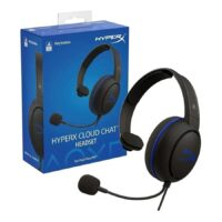 AURICULARES PS4 HYPERX CLOUD CHAT (negro)